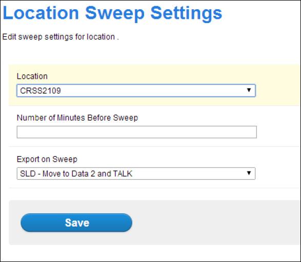 sweep-settins